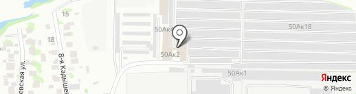 Планета Авточехлов на карте Казани