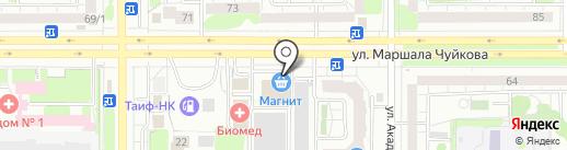 Магазин разливного крафтового пива на карте Казани
