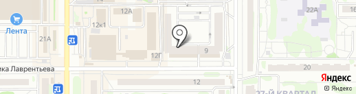 Магазин женской одежды на карте Казани