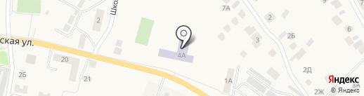 Средняя общеобразовательная школа на карте Песчаных Ковалей