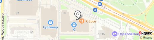 Баобаб на карте Казани