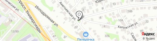 Часовня на карте Казани