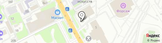 ГиперДОМ на карте Казани