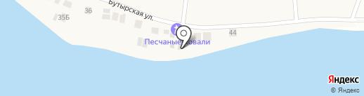 Песчаные Ковали на карте Песчаных Ковалей