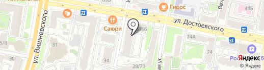 Компания Диалог-Авто на карте Казани