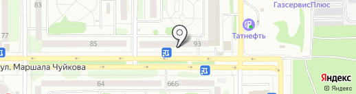 Pion на карте Казани