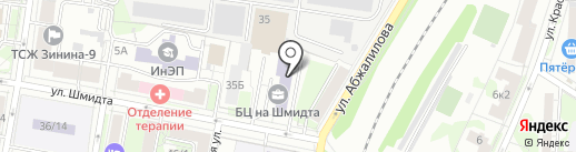 РАКУРС на карте Казани