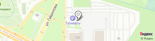 ТАТНЕФТЬ на карте Казани