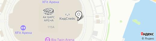 Indigo на карте Казани