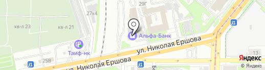 Вектор на карте Казани