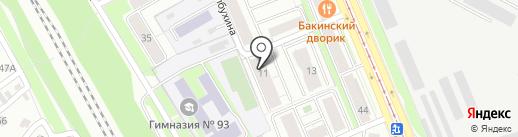 АртСевен на карте Казани
