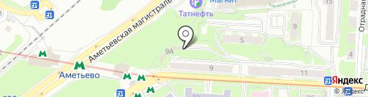Автоспец на карте Казани