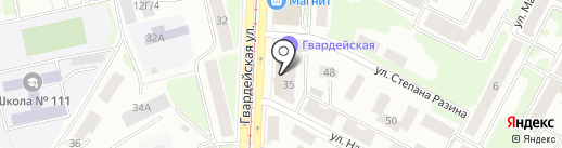 Модистка на карте Казани