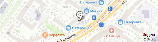 Мясной магазин на карте Казани