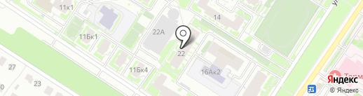 ЛЕКИ 116 на карте Казани