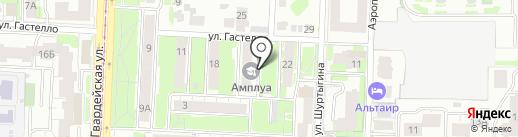 МЕТОД на карте Казани