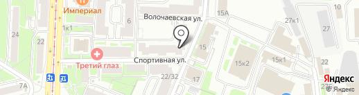 Казанский проспект на карте Казани