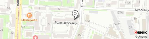 Бюро бухгалтерских и юридических услуг на карте Казани