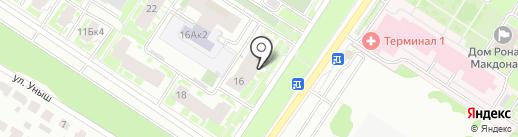 Студия загара на карте Казани