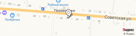 Арагви на карте Переволок