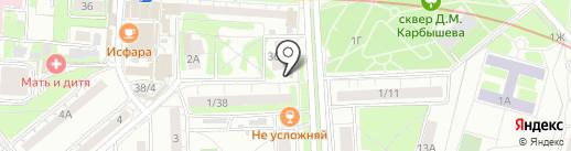 Киоск по ремонту обуви на карте Казани