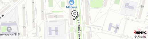 Вита на карте Казани