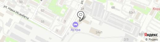 Магистраль-116 на карте Казани