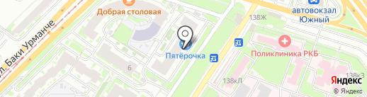 Фармленд на карте Казани