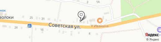 Продуктовый магазин на карте Переволок