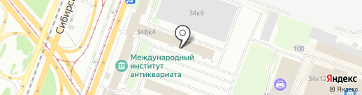 Эквитас на карте Казани