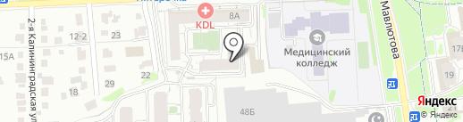Niin на карте Казани