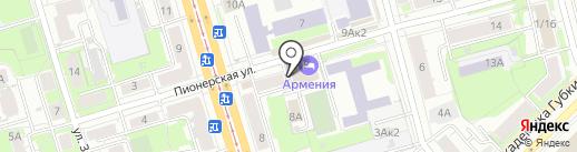 Магазин мяса на карте Казани