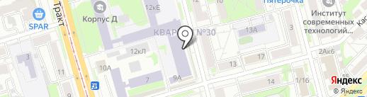 Казанский национальный исследовательский технологический университет на карте Казани