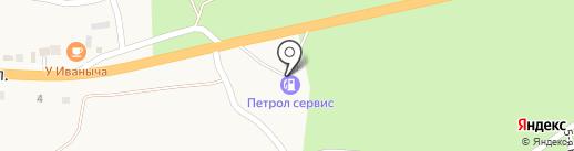 АЗС Petrol на карте Переволок