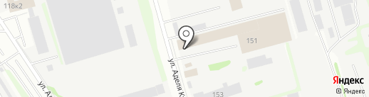 ВикМет на карте Казани