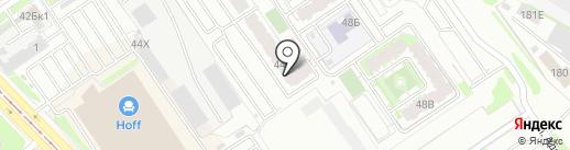 Парикмахерская на карте Казани