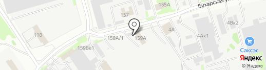 Камаз на карте Казани