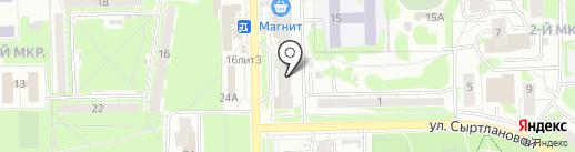 Легко-Деньги на карте Казани