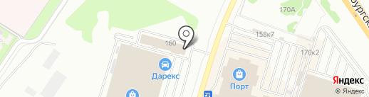 Форсаж на карте Казани
