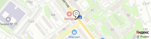 Компания по продаже воздушных шаров на карте Казани