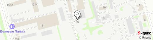 Итиль-Комплект на карте Казани
