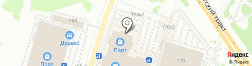 Е1 на карте Казани
