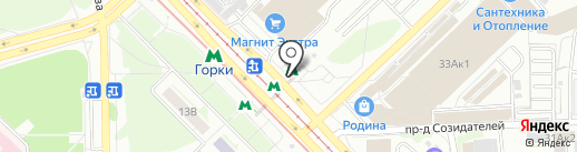 Сеть кулинарий на карте Казани