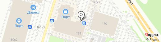 Универсал на карте Казани