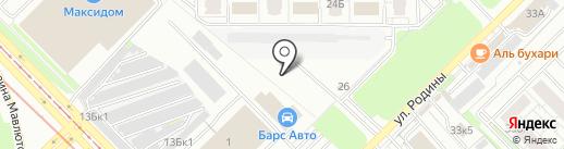 Carex.su на карте Казани