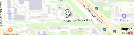 Опорный пункт общественного порядка на карте Казани