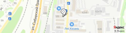 Профессиональное Строительство Банных Комплексов на карте Казани