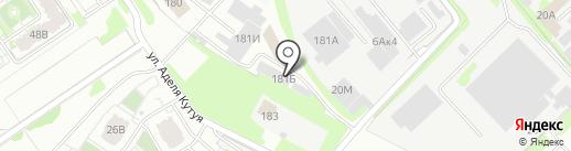 АВИР на карте Казани