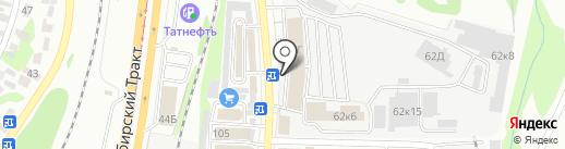 БЭР Групп на карте Казани