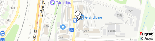 TEKNOS на карте Казани